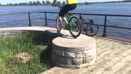 360 triALS MTB MONTREAL BMX STREET NS BIKE OCTANE ONE DANNY CURADEAU
