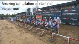Amazing compilation of starts in motocross!
