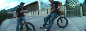 BMX STREET: Stefan Lantschner x Bruno Hoffman in Italy @woozybmx