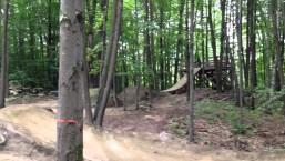 Bmx trials at highland mtb park