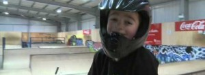 Cameron Sale 6 year old bmx'er
