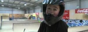 Cameron Sale 6 year old bmx'er