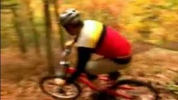 Cornering Techniques for Downhill Mountain Biking : Tips for Bermed Corners in Mountain Biking