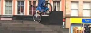 Crazy BMX tricks