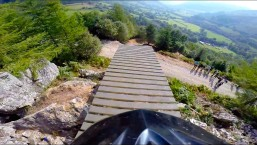 Dan Atherton's Intense Downhill MTB Run POV – Red Bull Hardline