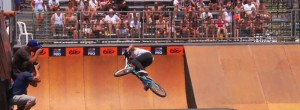 "Dhers unveils the ""Cash Roll"" at Nike 6.0 HB BMX Pro"