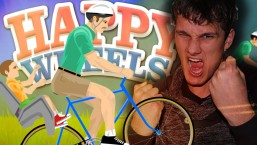 EPISCHE BMX STUNTS! HAPPY WHEELS!