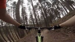 GoPro: Cannock Chase – Monkey Trials – Lower Cliff