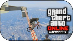 GTA 5 Online – IMPOSSIBLE BMX SKY TRIALS ! (GTA 5 Funny Moments)