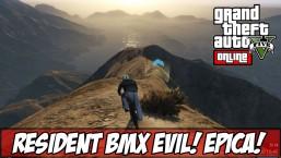 GTA V – Corrida ÉPICA RESIDENT BMX EVIL! (Ps4)