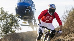 Helicopter Chases Curtis Keene Down Incredible MTB Trail