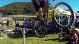 Jeff Lenosky MTB Trials Stunt Demo