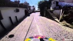 Marcelo Gutierrez's High-Speed Urban Downhill Crash In Taxco Mexico   Urban Legend, Ep. 20