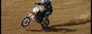MSC Werl 50 ccm Rennen ,Niklas Wojaczek. Motocross