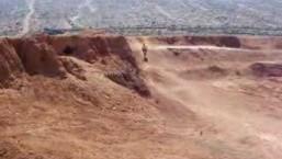 mtb dirt jump en lanzarote