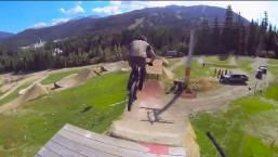 MTB slopestyle course preview w/ Brandon Semenuk – Red Bull Joyride 2014