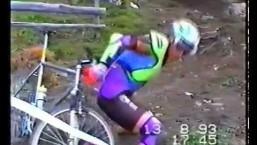 Old School MTB Downhill World Cup Crashing 1993