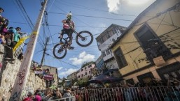 One of the Scariest Urban Downhill