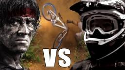 Rambo Vs Mountain Bikers