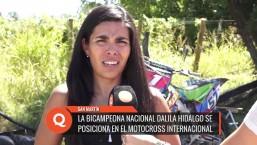 Sanmartiniana logra posicionarse en el motocross internacional