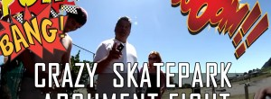 Skate Park Fight with BMX Rider VS Angry Russian
