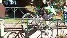 street trial mountain bike