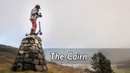 The Cairn – Glen Lyon MicroScooter Microadventure Tribute to Danny MacAskill's The Ridge