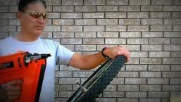 Orange Seal Cycling Tubeless Tire Sealant vs.Nail Gun