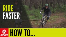 How To Ride Faster On Your Mountain Bike