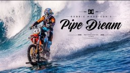 Unbelievable Motocross Riding on Waves