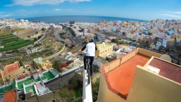 Danny MacAskill Insane Rooftop Riding