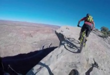 Riding on the Edge – Blue Dot Trail, Moab, UT