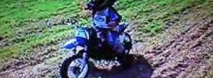 2 year old motocross rider