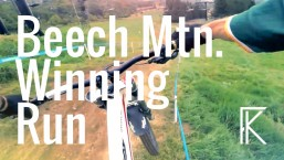 Beech Mountain NC Downhill MTB Series Final Race – GoPro 60fps – Phil Kmetz