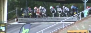 BMX Race Start Epic Fail