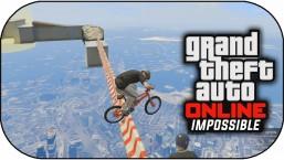 GTA 5 Online – IMPOSSIBLE BMX SKY TRIALS ! (GTA 5 Funny Moments)