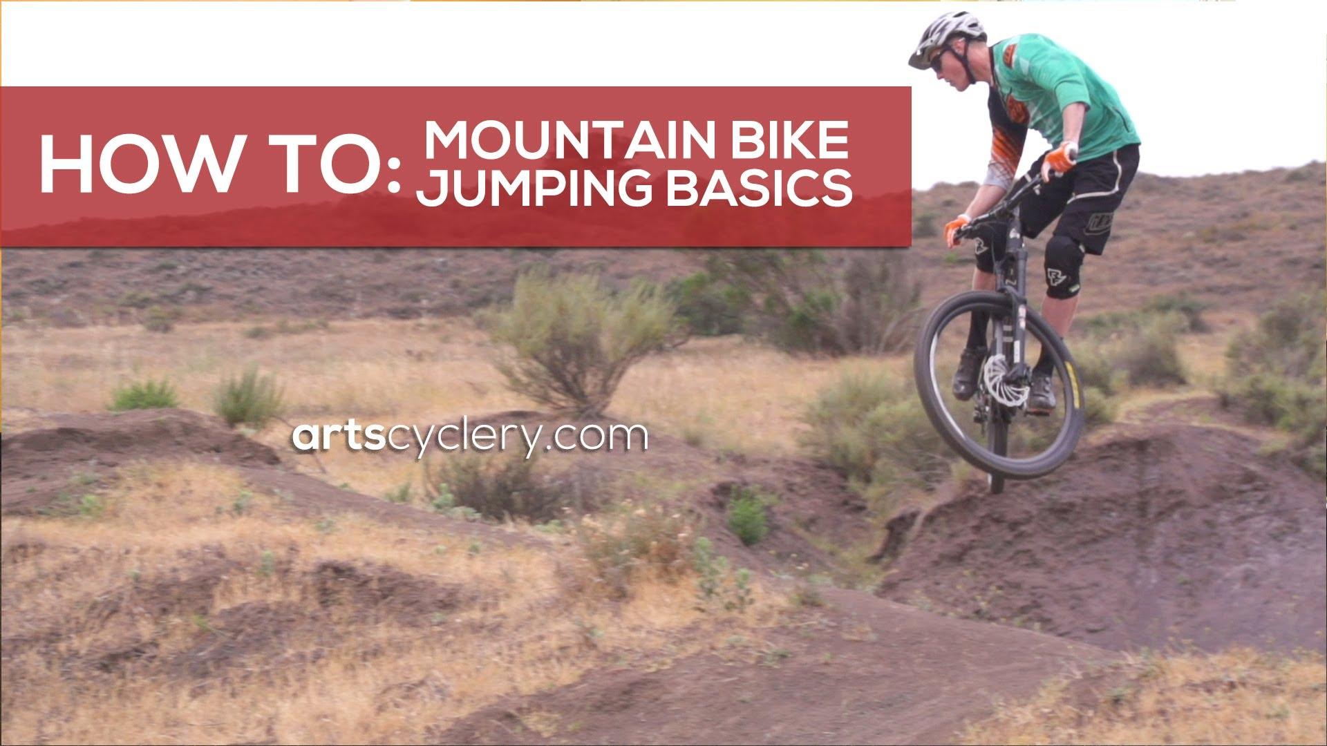 Mountain Bike Jumping Basics