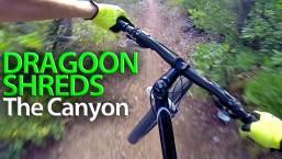 MTB POV Dragoon Shreds The Canyon   GoPro Mountain Bike Shred