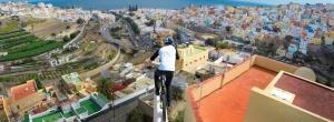 Danny MacAskill Insane Rooftop Riding